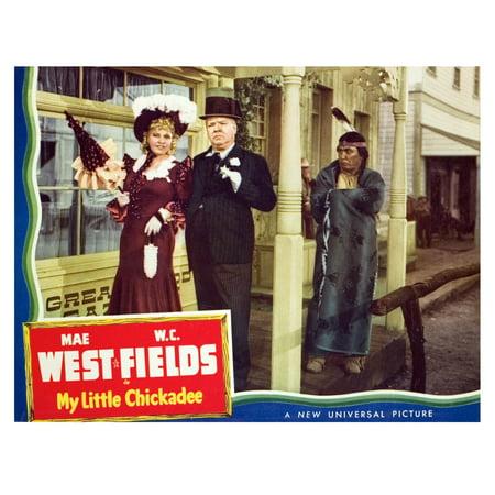 My Little Chickadee Mae West WC Fields George Moran 1940 Movie Poster Masterprint