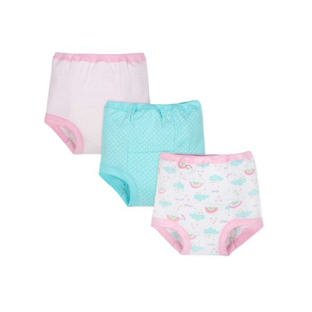 Gerber Organic Cotton Reusable Training Pants, 3pk (Toddler Girl)