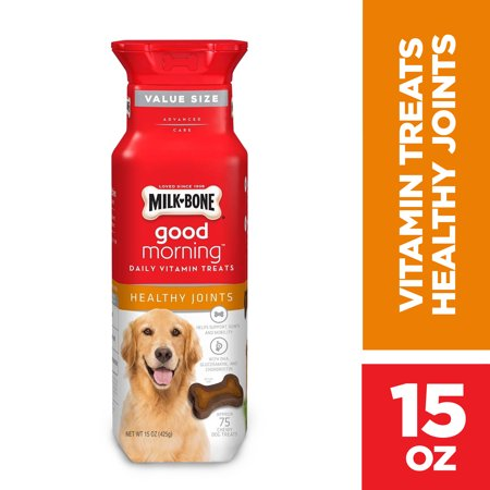 Healthy Kid Halloween Treats (Milk-Bone Good Morning Daily Vitamin Dog Treats, Healthy Joints, 15)