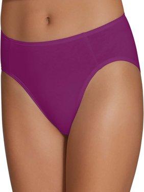 8d1300478ff0 Product Image Women's Cotton Stretch Hi-Cut Panties, 6 Pack