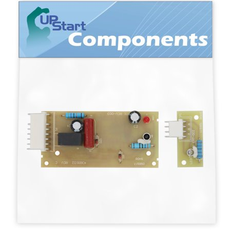 W10757851 Refrigerator Ice Level Control Board Replacement for KitchenAid KSRX25FNST01 Refrigerator - Compatible with 4389102 Icemaker Emitter Sensor Control Board - UpStart Components Brand
