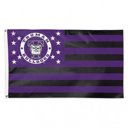 WinCraft Truman State University Bulldogs NCAA American Flag 3 x 5 Foot - image 1 de 1
