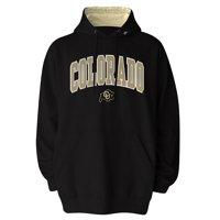 Colorado Buffaloes Officially Licensed Embroidered Logo Pullover Hooded Fleece Sweatshirt Hoodie (Medium)