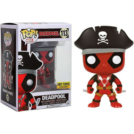 Funko Pop Marvel Deadpool Vinyl Bobble Head Pirate