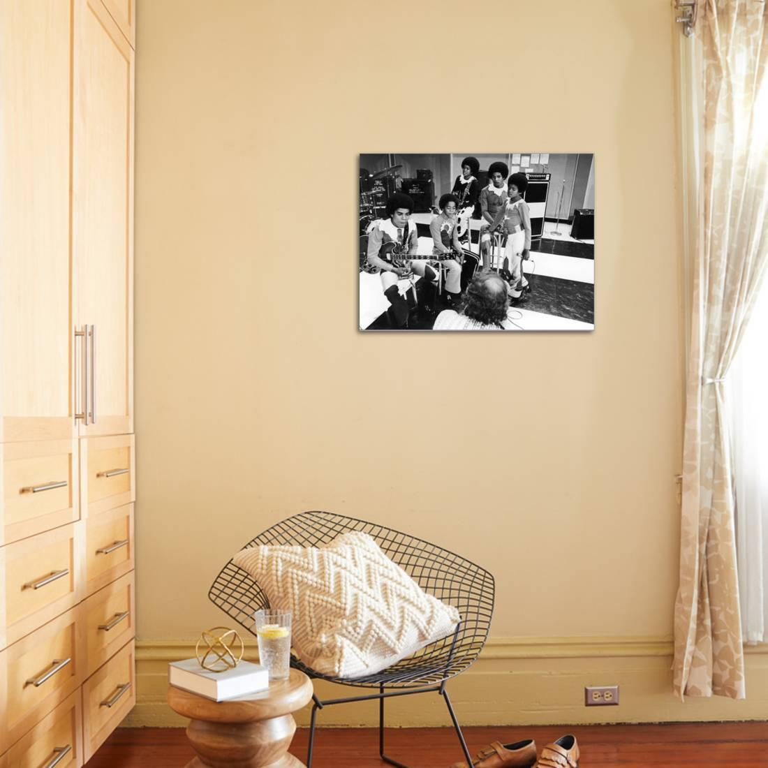 Michael Jackson; Jackson 5 -1971 Stretched Canvas Print Wall Art By ...