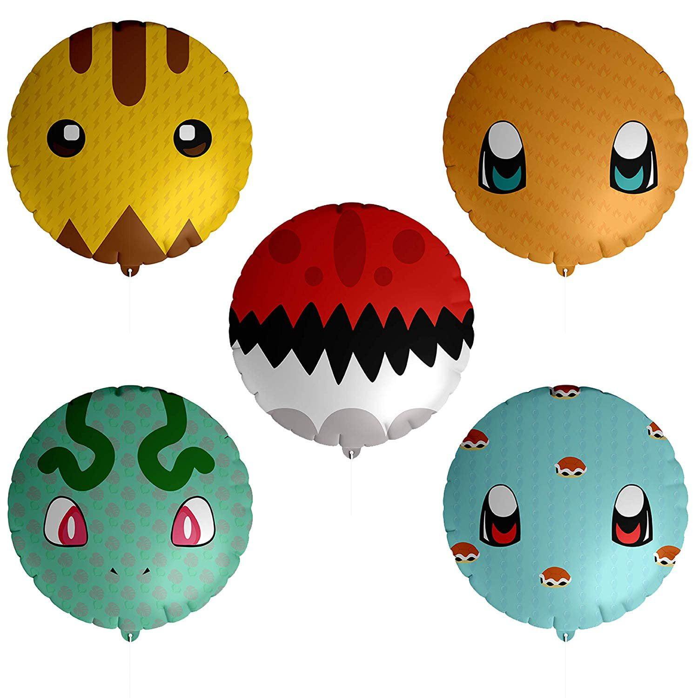 """18/"""" Pokemon  Poke Ball Balloon Helium Party Birthday Decoration"""