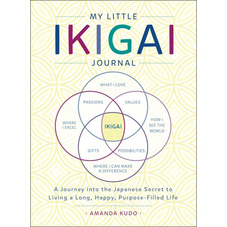 My Little Ikigai Journal : A Journey into the Japanese Secret to Living a Long, Happy, Purpose-Filled (A Little Bit Of In My Life)