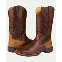 Noble N65020-135 Mens Distressed Oak Rare Breed All-Around Square Toe Boot 7D (M) US