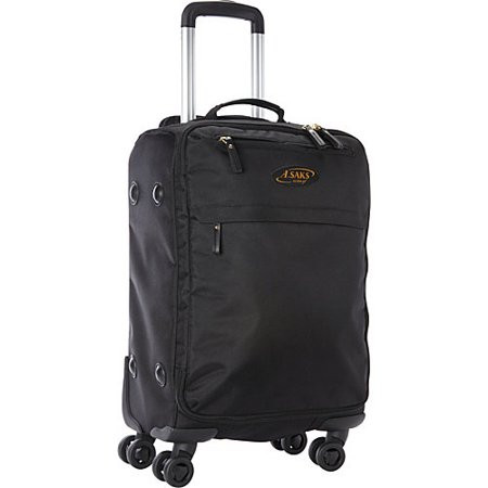 Image of A. Saks 22; Expandable Lightweight Spinner Carry-On
