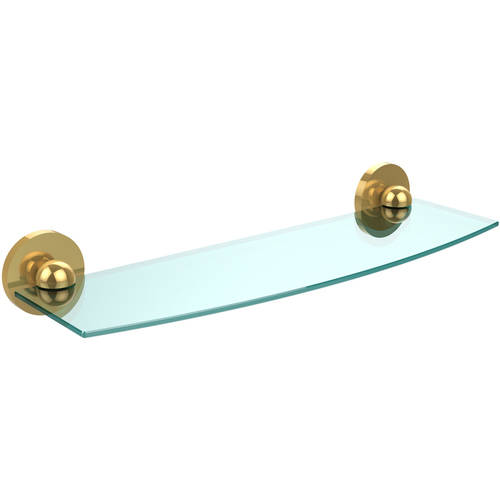 """Skyline Collection 18"""" Glass Shelf (Build to Order)"""