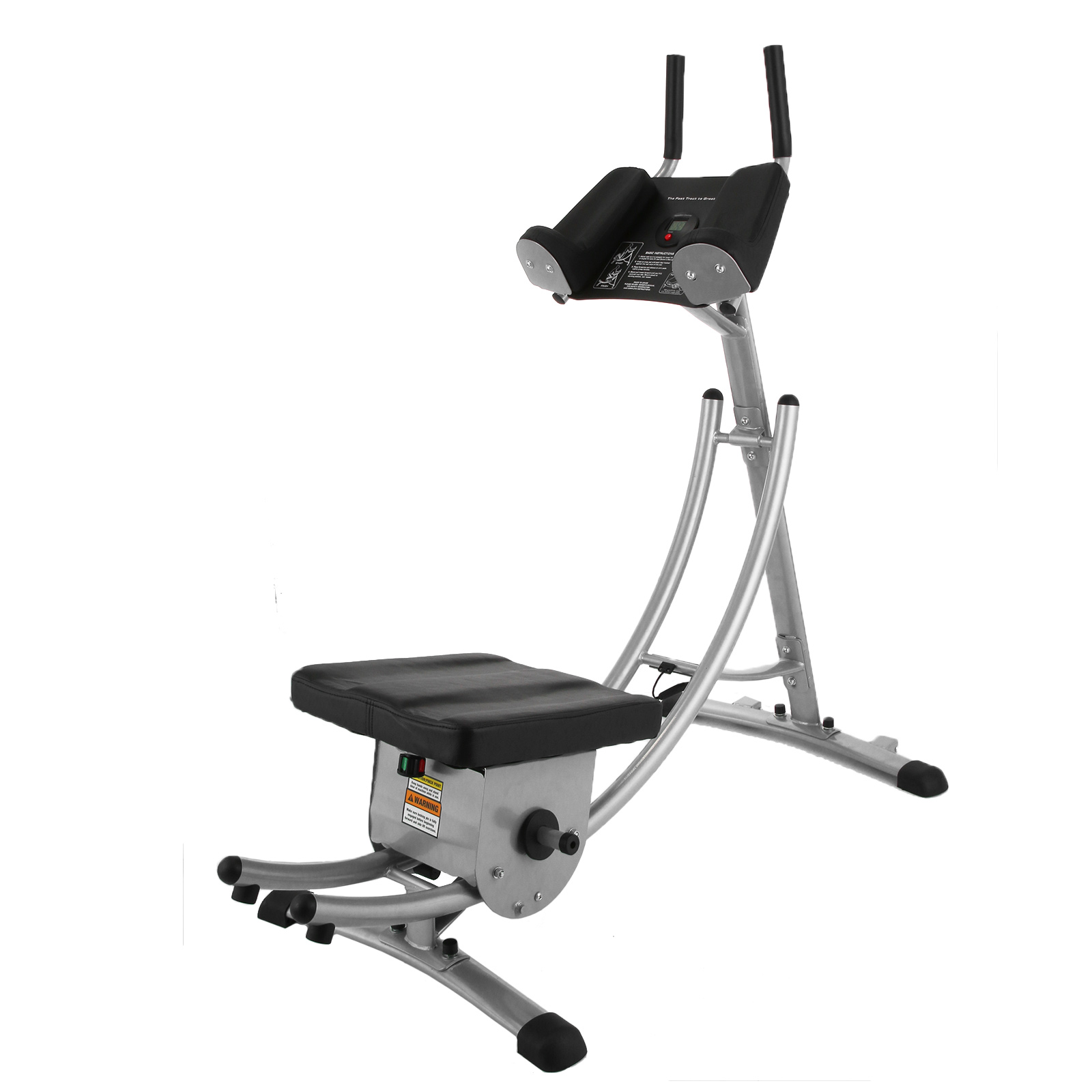 VEVOR Abdominal Coaster Fitness Equipment Ab Trainer with...