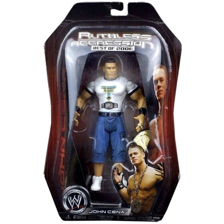 WWE Wrestling Ruthless Aggression Best of 2006 John Cena Action