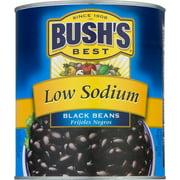 Bush's Low Sodium Canned Black Beans, 108 oz
