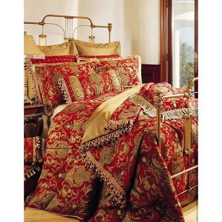 (Sherry Kline  China Art Red 6-piece Comforter Set)