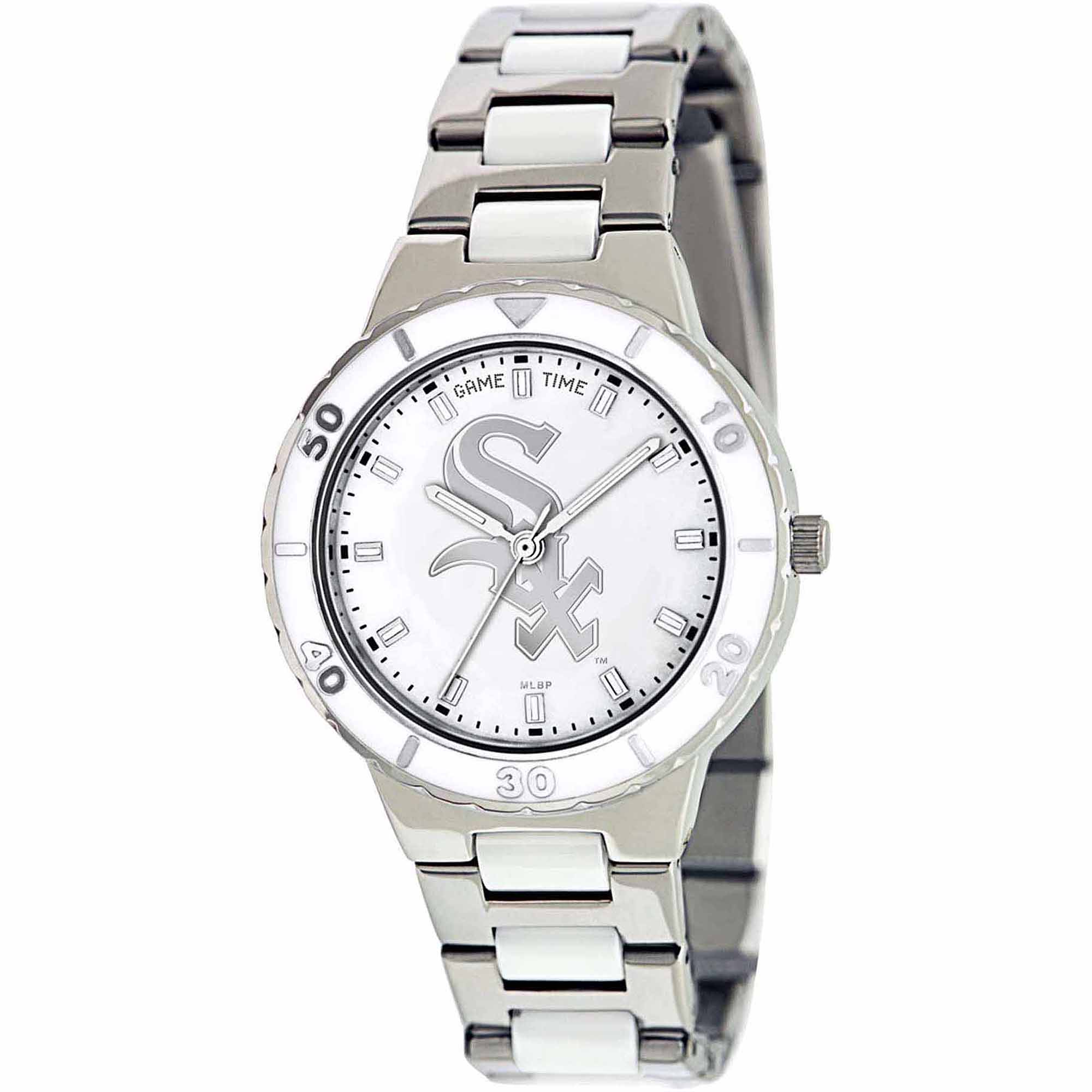 Game Time MLB Women's Chicago White Sox Pearl Series Watch