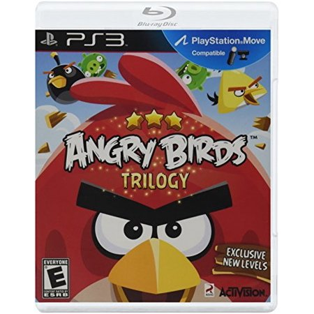 Angry Birds Trilogy - Playstation 3 (Play Game Angry Birds Halloween Hd)
