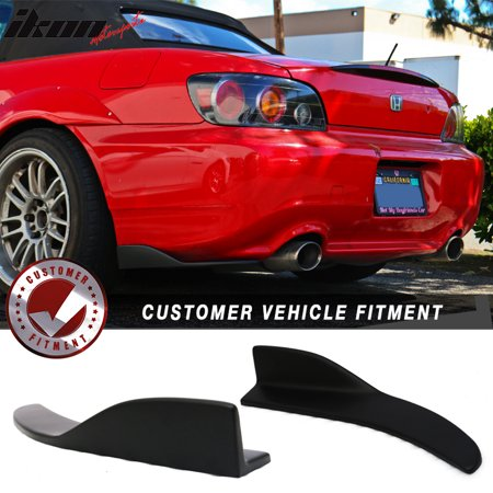 Universal Compatible with V7 Front Rear Bumper Lip Winglets Side Skirt Extensions (Front Bumper Extension)