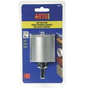Artu Hole Saw Tc Grit 2-1/2In W/Arb 2850