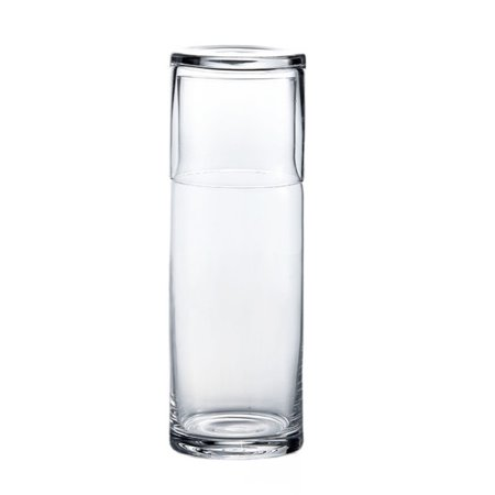 Wrought Studio Stoner 2 Piece Water Bottle and Glass Set