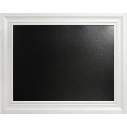 "Linon Home 24"" x 30"" Chalkboard with Frame, Multiple Colors"