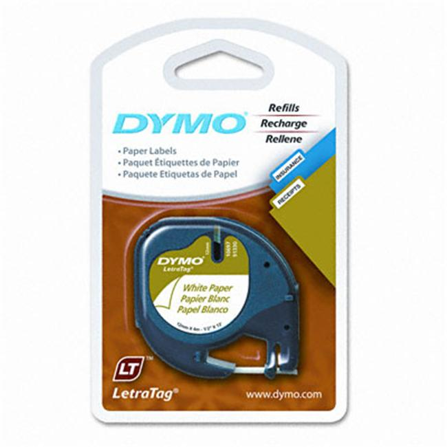 Sanford Brands 10697 Label  Dymo Letra Tag  2 Pack  Paper
