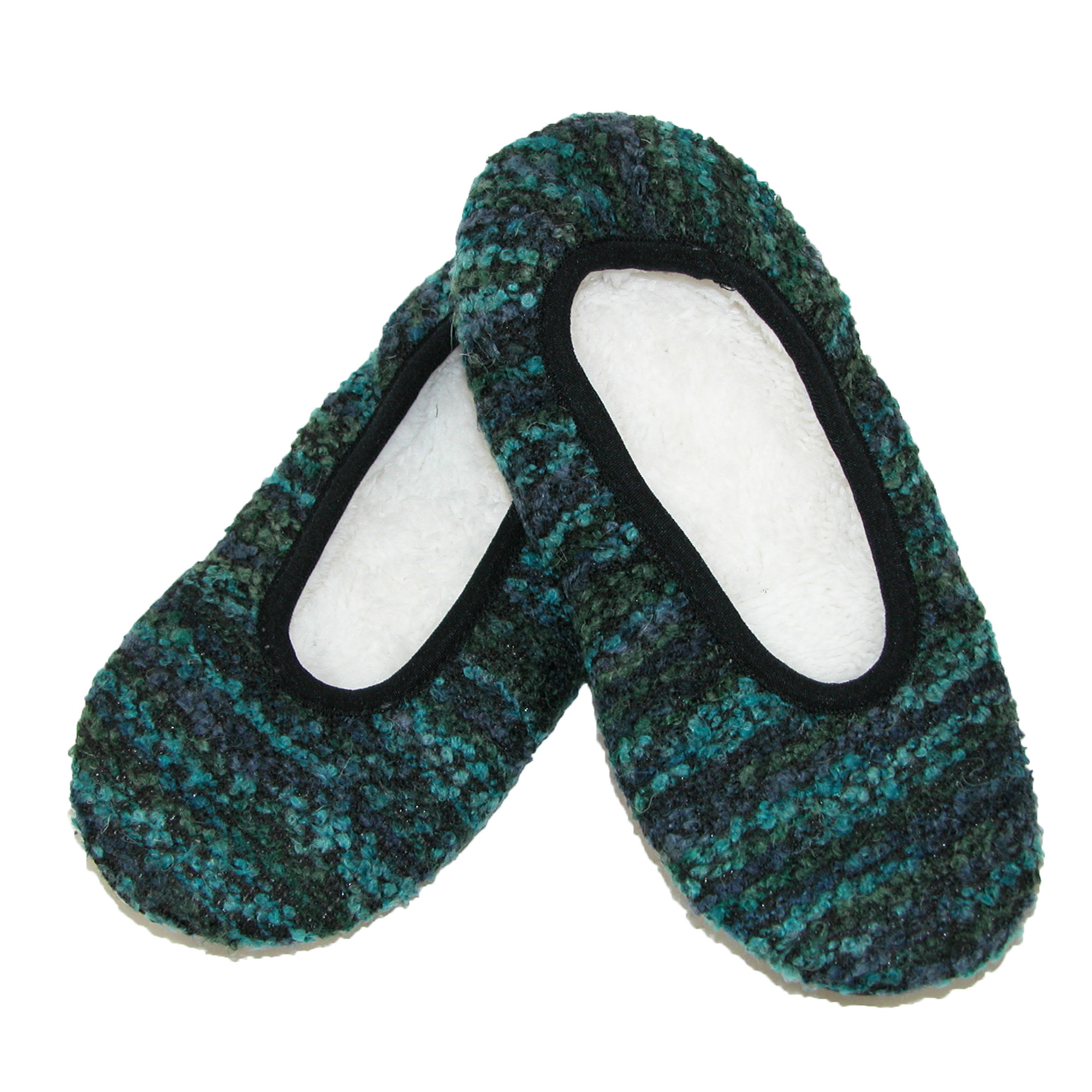 Dearfoams  Womens Cozie Knit Slipper