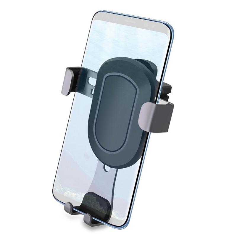 Samsung Galaxy S7 Edge Car Air Vent Mount with Gravity Auto Lock Holder Cradle Dock Black L3J