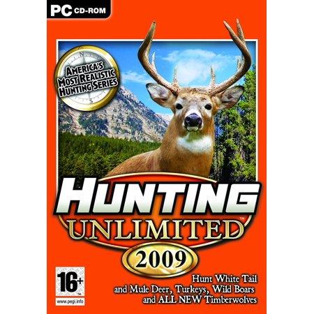 Hunting Unlimited 2009 PC Game - Hunt White Tail & Mule Deer, Turkeys, Wild Boars & Timberwolves (John Deere Video Game)