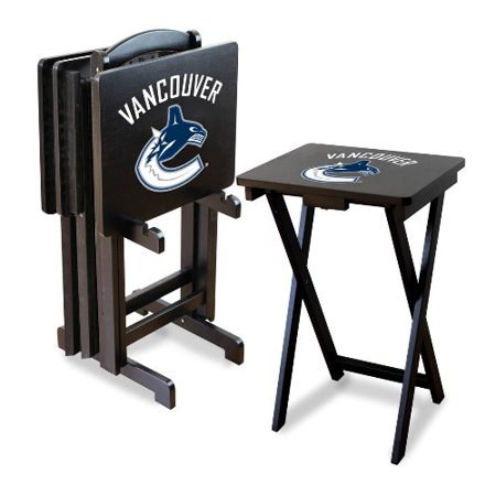 Imperial NHL TV Tray Table Set Vancouver Canucks by