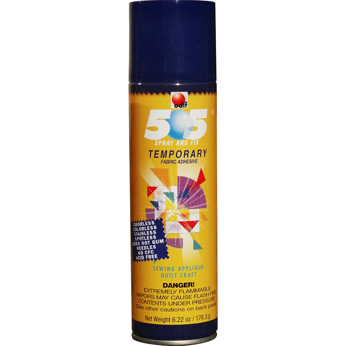 Odif USA 505 Spray & Fix Temporary Fabric Adhesive 6.22oz