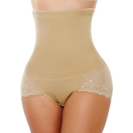 daf8a566bf8 SAYFUT - SAYFUT Womens Shapewear Seamless Hi-Waist Brief Firm Control Waist  Cincher Trainer Tummy Slimmer Body Shaper - Walmart.com
