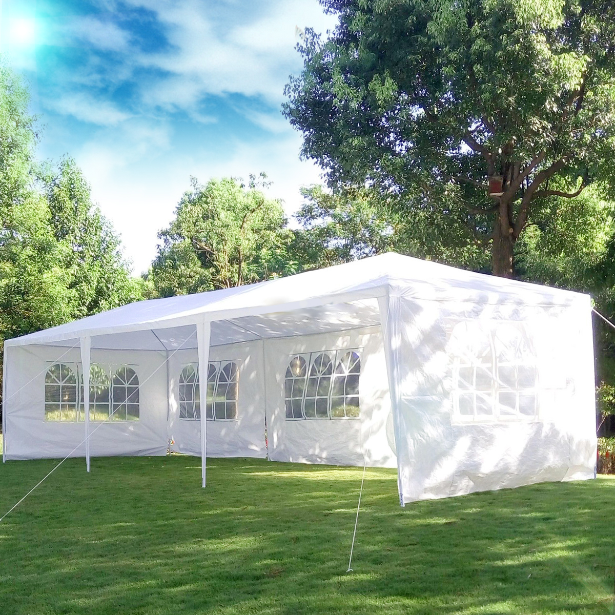Ktaxon 10' x 30' Party Tent Wedding Canopy Gazebo Wedding Tent Pavilion
