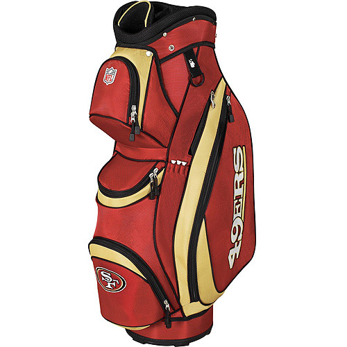 Wilson Sporting Goods NFL 49ers Golf Cart Bag