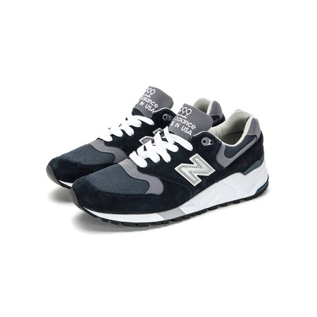 hot sale online 3a5a5 4c72e New Balance Men's 999 Made In USA Sneakers M999CBL Navy/Pewter SZ 7