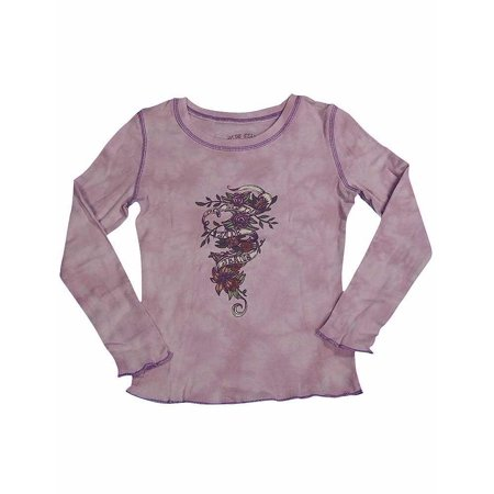Jade - Little Girls Long Sleeved Tee Green / 4
