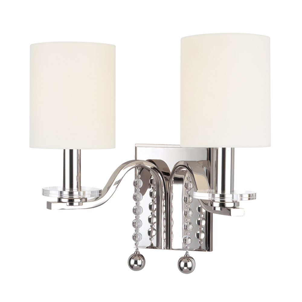 Hudson Valley 8162-PN 2 LIGHT WALL SCONCE