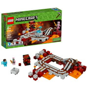 LEGO Minecraft The Nether Railway 21130 (387 Pieces)