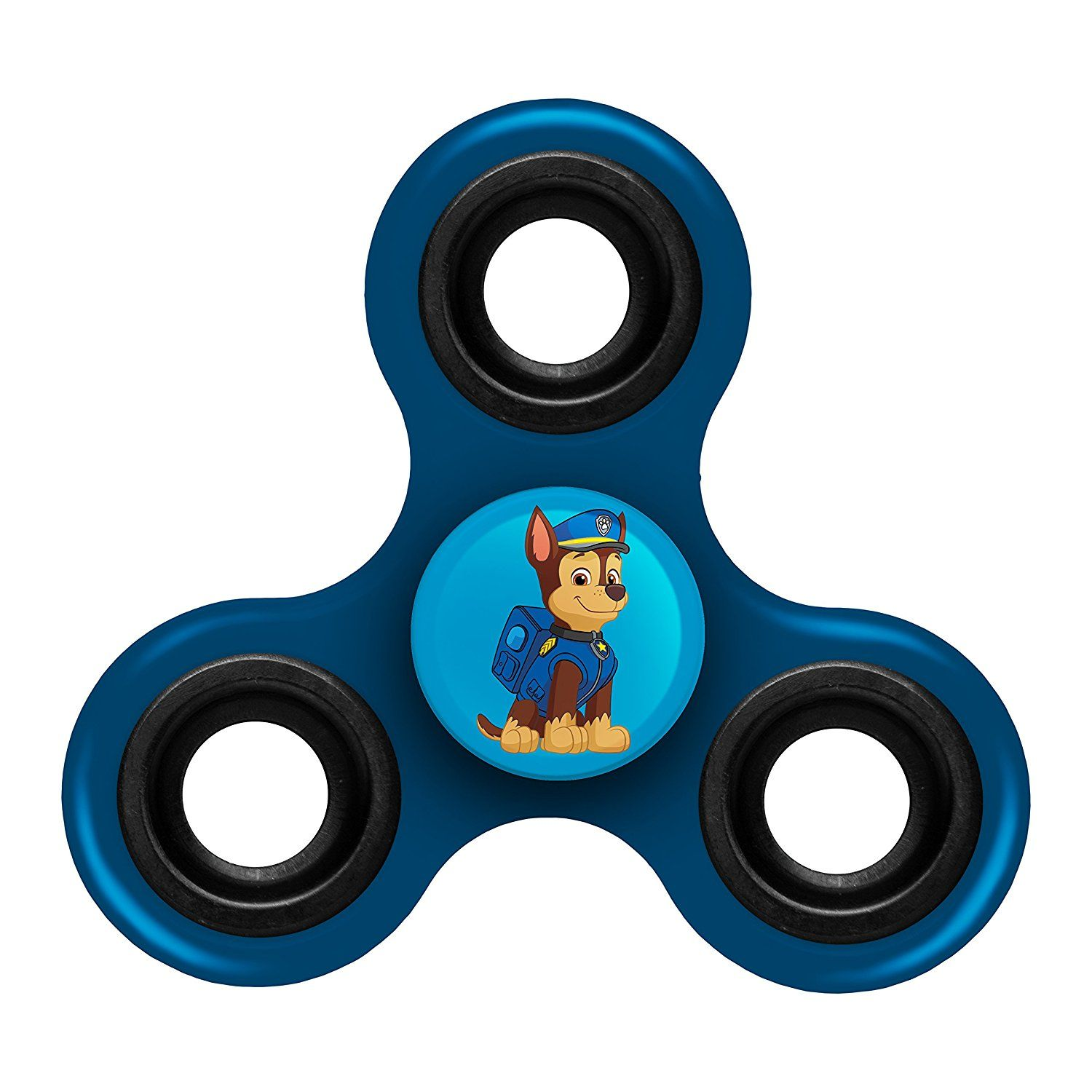 Paw Patrol Chase 3-Way Diztracto Spinnerz Fidget Spinner Forever Collectibles
