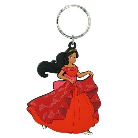 PVC Key Chain - Disney - Elena of Avalor Soft Touch 86126