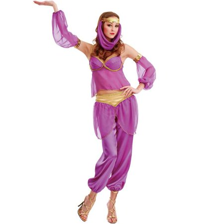 Steamy Genie Adult Costume - Medium](Adult Genie)