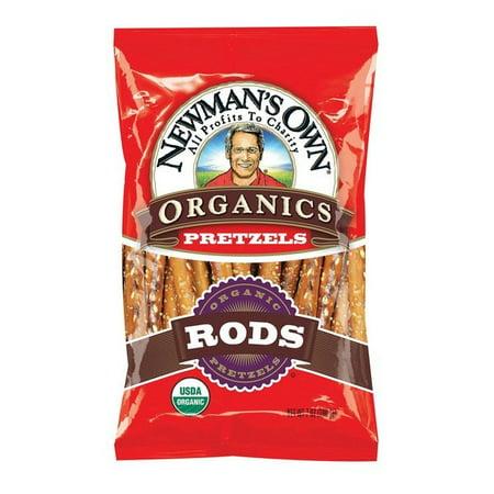 Newman's Own Organics Salted Pretzel Rods - pack of 12 - 8 Oz.