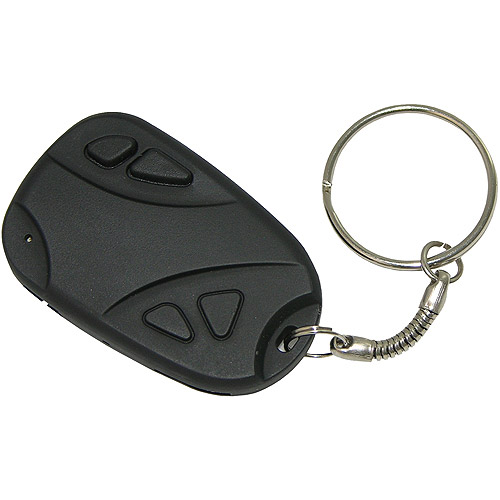Night Owl Covert Video Keychain Recorder (4GB microSD Card included)