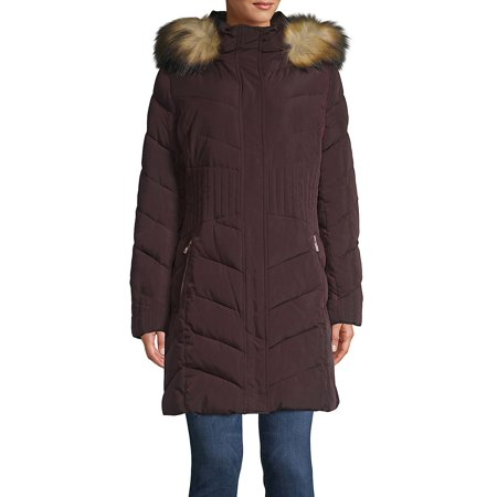 Marc New York Quilted Jacket - Quilted Faux-Fur Trimmed Jacket