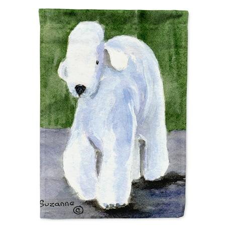 Bedlington Terrier Flag Canvas House Size (Bedlington Terrier Dog)
