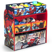 Marvel Spider-Man Multi-Bin Toy Organizer by Delta Children