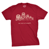 Mens Sarcastic Shirt  Im Full Of Myself Nesting Dolls Novelty Top for Guys From Russia with love Have you tried a Crazy Dog T-shirt yet? Just Wait until you slip on one of these super soft tees. You'll instantly fall in love! Not only are they printed on super soft cotton but the tees fit great too. Try one and you won't go anywhere else! With over 900 designs Crazy Dog is the online destination for your favorite tees. Many of our designs are available in mens, womens, and youth sizes and come in a variety of different colors. Check our store to see them all!