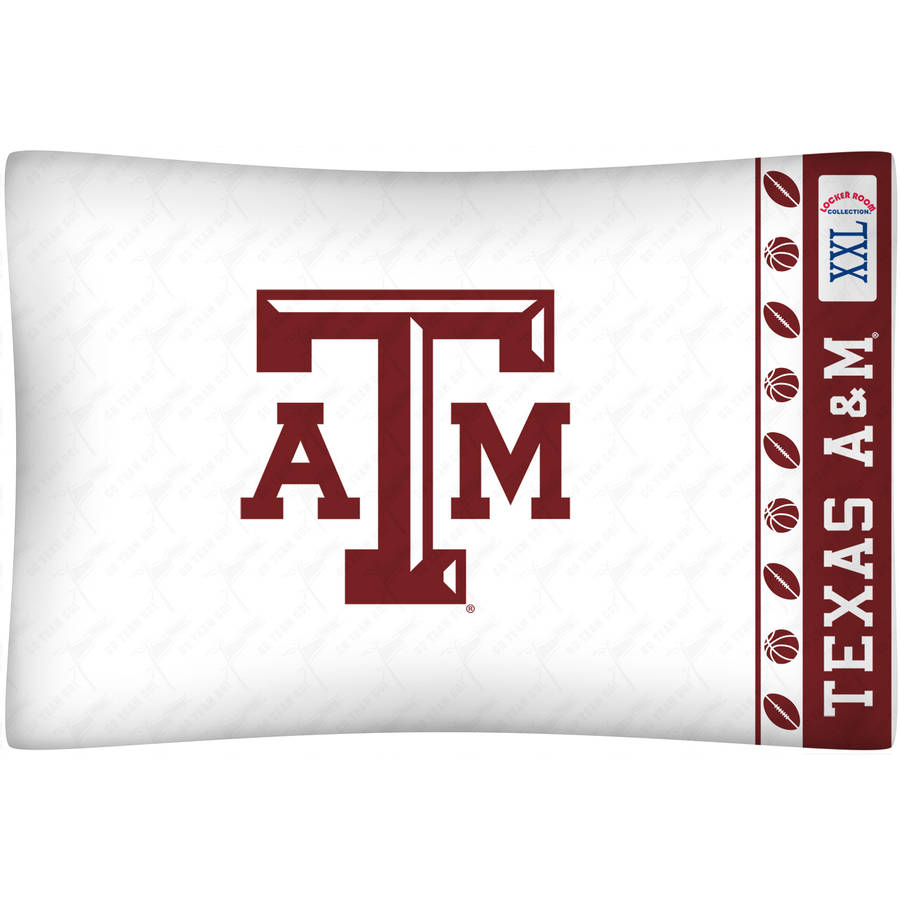 NCAA Texas A&M Micro Fiber Pillow Case
