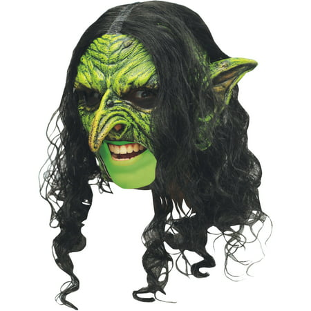 Chinless Wicked Mask Deluxe Adult Halloween - Wicked Halloween Mask