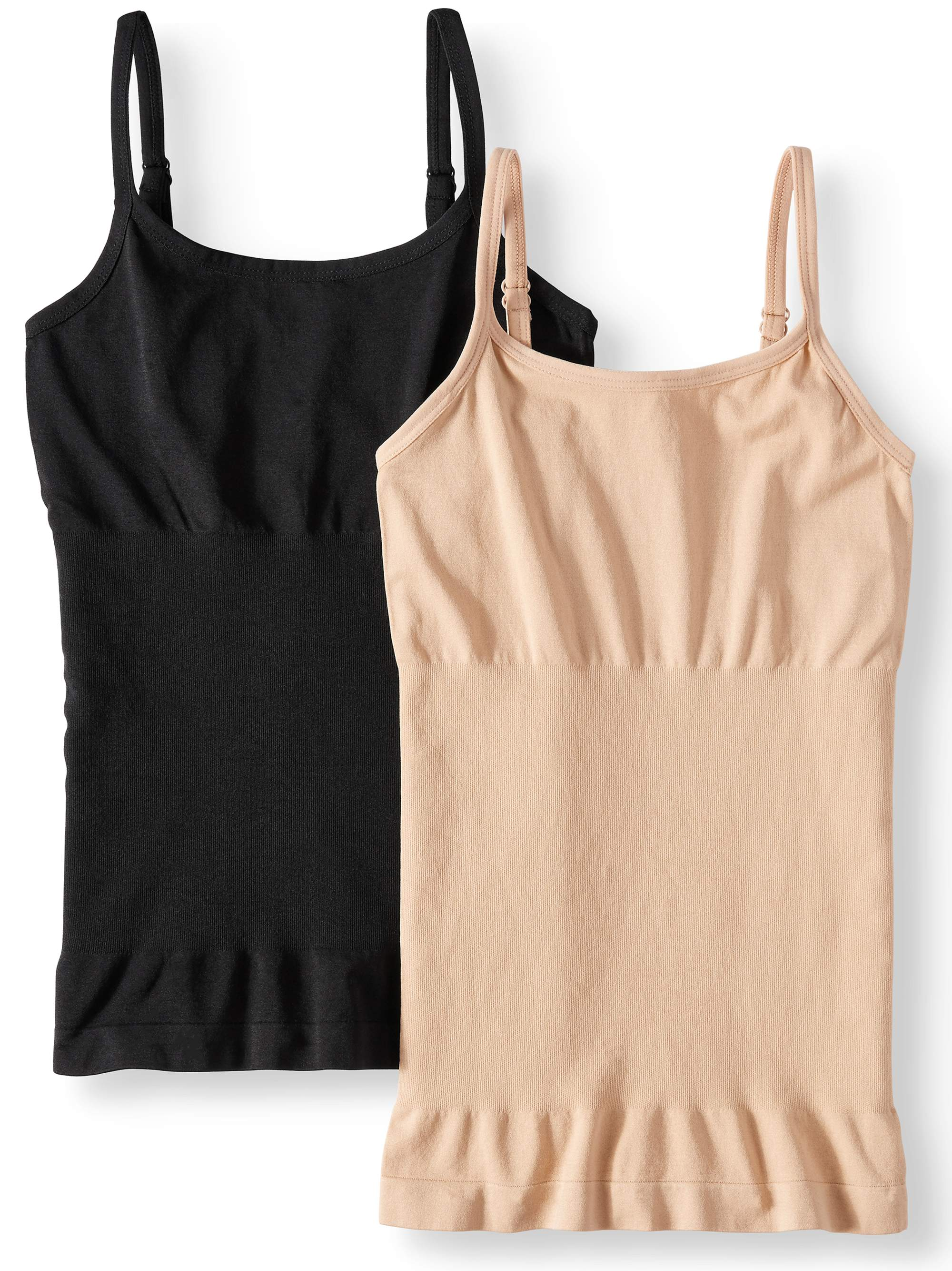 Women's and Women's Plus Linda 2 Pack Seamless Shaping Camisole
