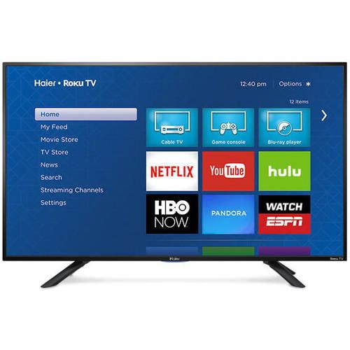 "Haier 49E4500 49"" 1080p 60Hz Roku Smart LED HDTV"